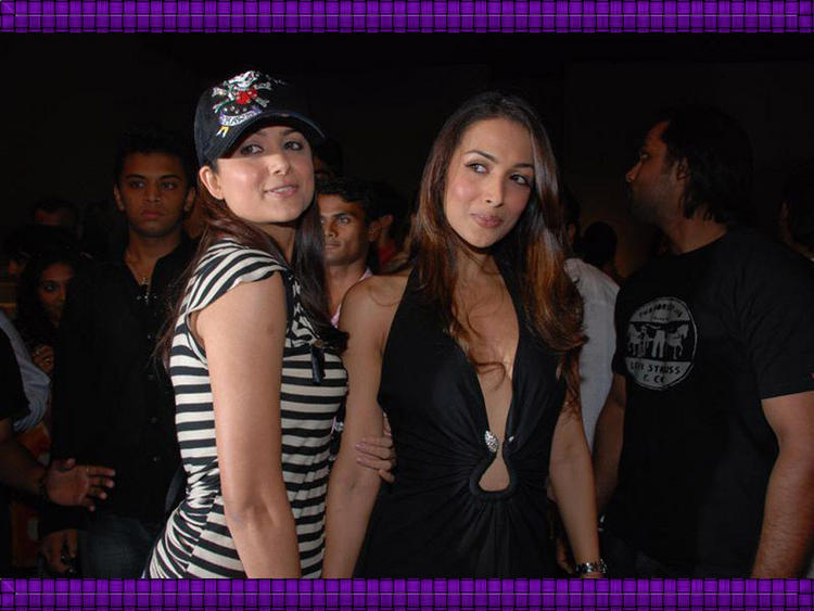Amrita Arora and Malaika Arora Sexy Still
