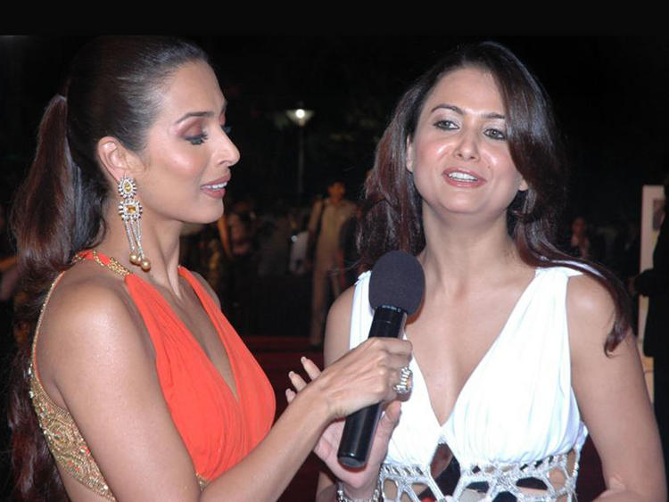 Malaika Arora and Amrita Arora Glamour Still