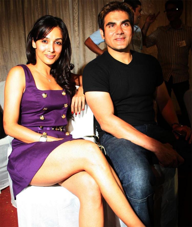 Malaika Arora with Arbaz Khan