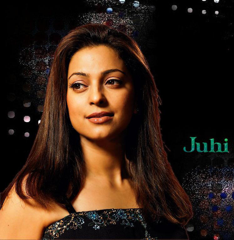 Beauty Queen Juhi Chawla Wallpaper