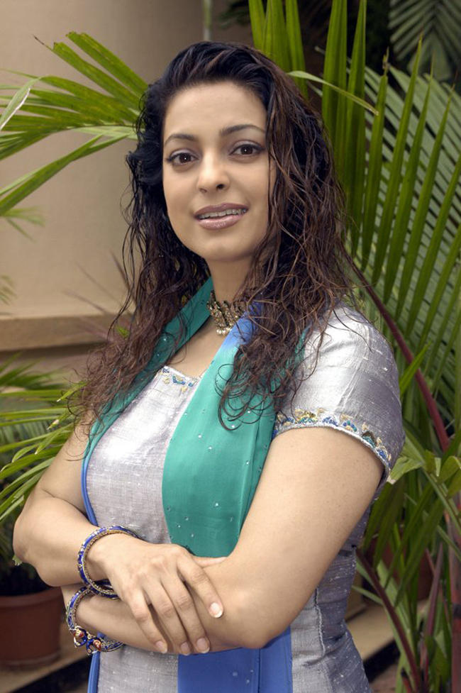 Juhi Chawla Curly Hair Beauty Still