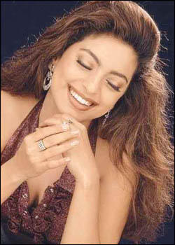 Juhi Chawla Smiling Photo