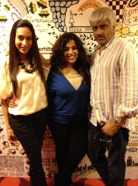 Karisma Kapoor Promoting Dangerous Ishhq at Red FM 93.5