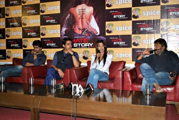 Bollywood Movie Hate Story Press Meet at Noida