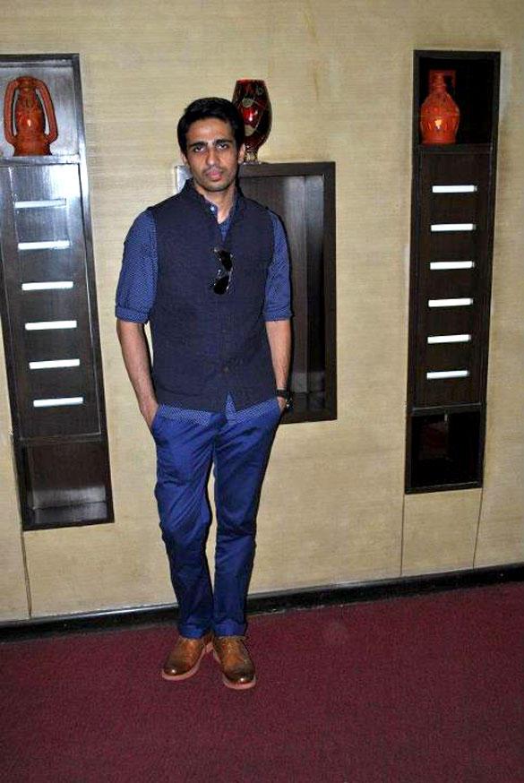Gulshan Devaiya at Hate Story Press Conference at Noida