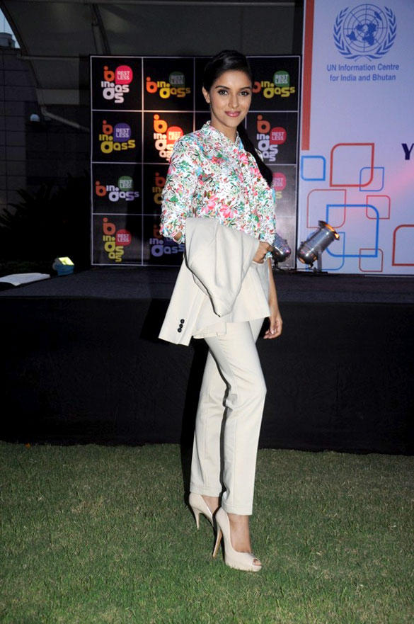 Asin At United Nations' Young Changemakers Conclave 2012