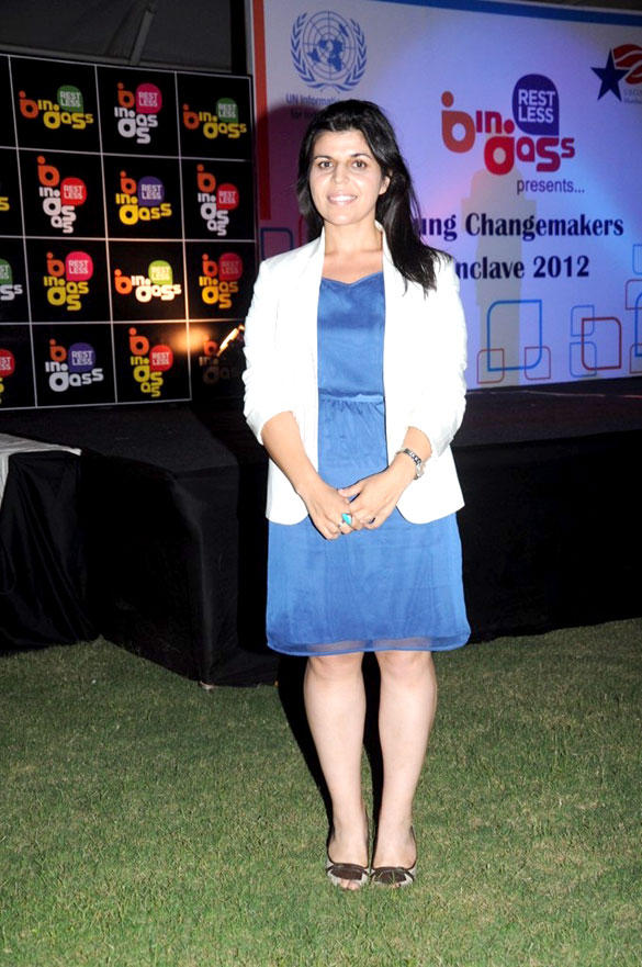 Celebs at United Nations Young Changemakers Conclave 2012