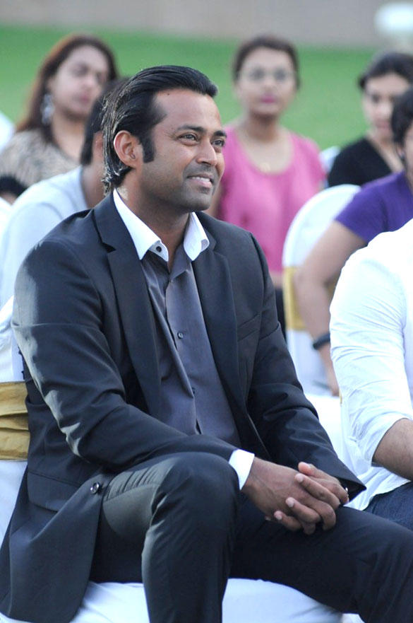 Leander Paes During United Nations Young Changemakers Conclave