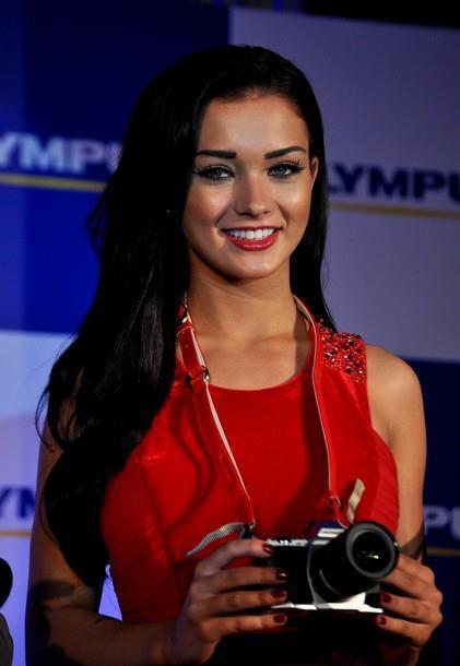 Amy Jackson Launches Olympus Camera