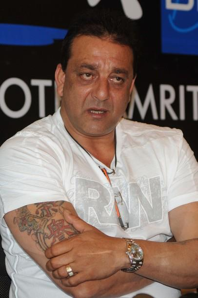 Sanjay Dutt at a Press Conference at Radisson Hotel