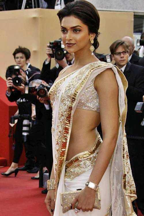 Deepika Padukone Spicy Belly Still