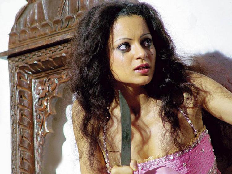 Kangana Ranaut Hot Acting Still