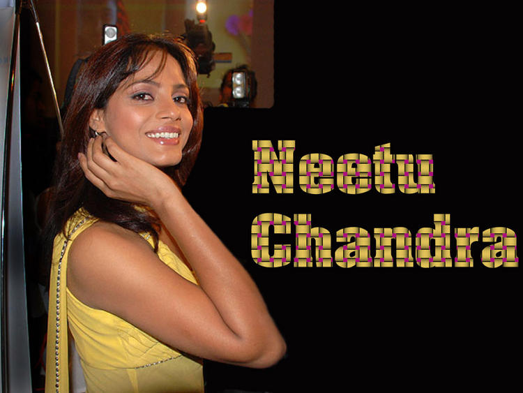 Indian Model Neetu Chandra Wallpaper