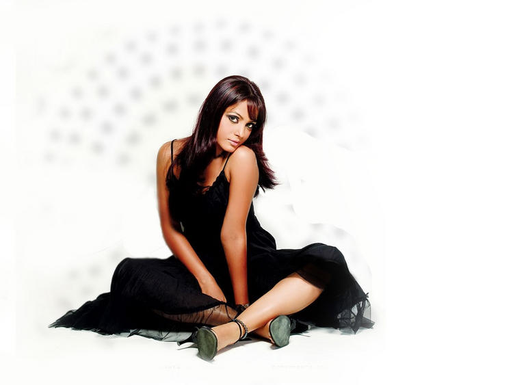 Neetu Chandra Hot Sexy Pose Wallpaper