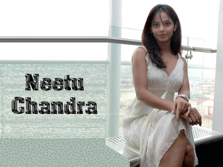 Neetu Chandra Sweet Cool Look Wallpaper