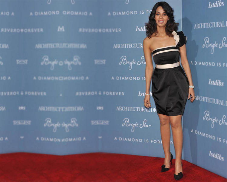 Mallika Sherawat Cute Still On Red Carpet