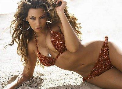 Beyonce Knowles Wet Bikini Still