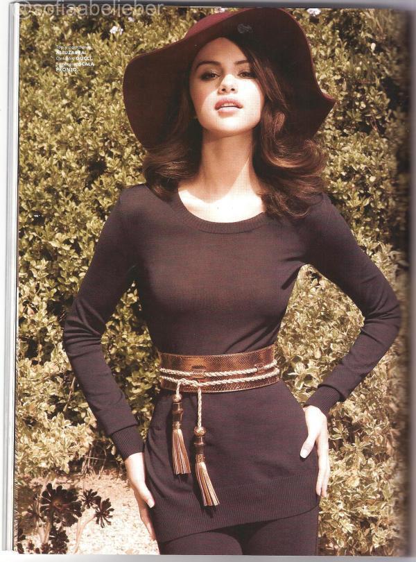 Selena Gomez Elle Mexico Still