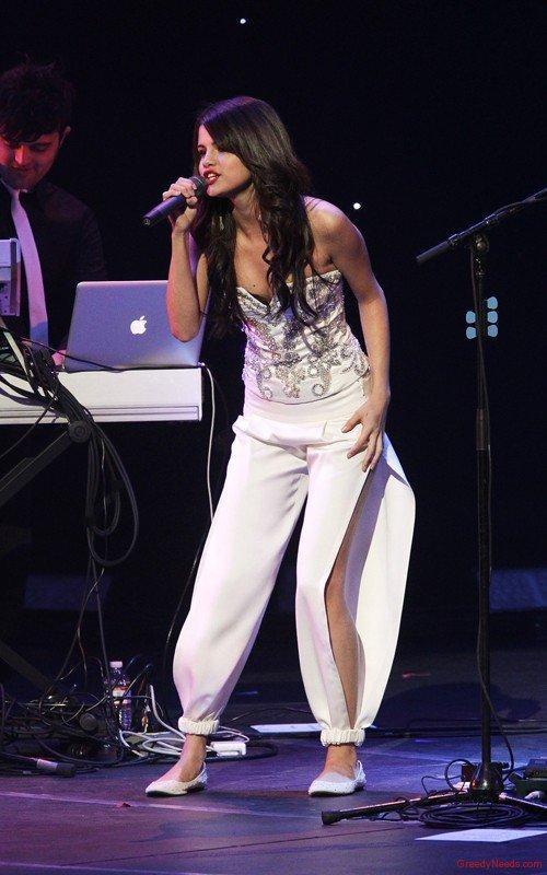 Selena Gomez Rocking Performance Still