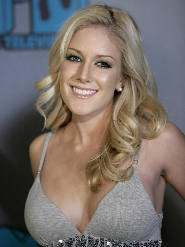 Heidi Montag Curly Hair Smiling Photo