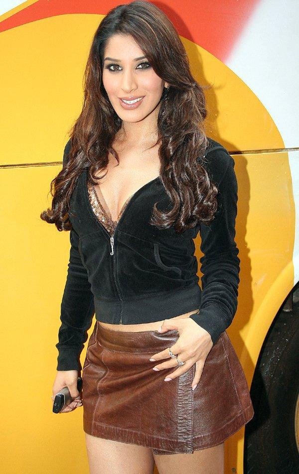 Sophie Chaudhary Mini Skirt Hot Still