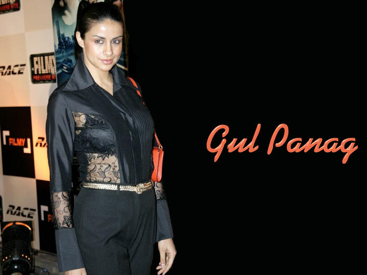 Gul Panag Hot Glamour Wallpaper