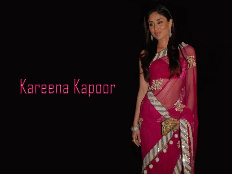 Kareena Kapoor In Saree Glamour Still