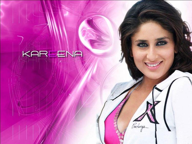 Kareena Kapoor Smiling Face Wallpaper