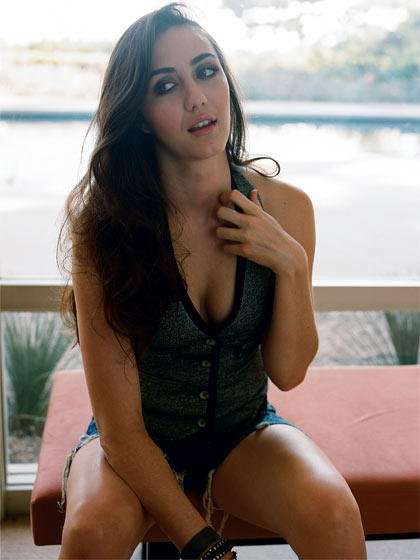 Madeline Zima Sexy Boob Show Still