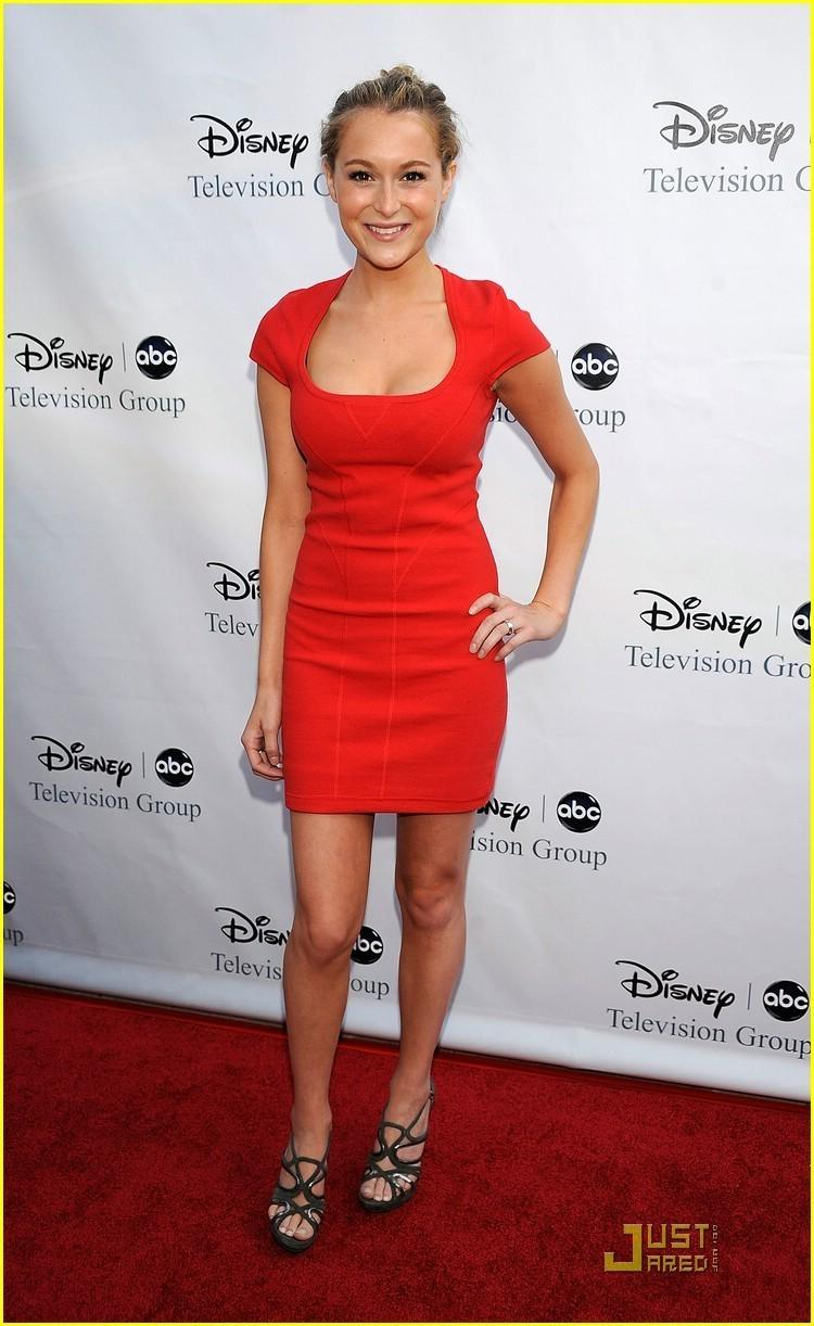 Alexa Vega Red Color Dress Photo