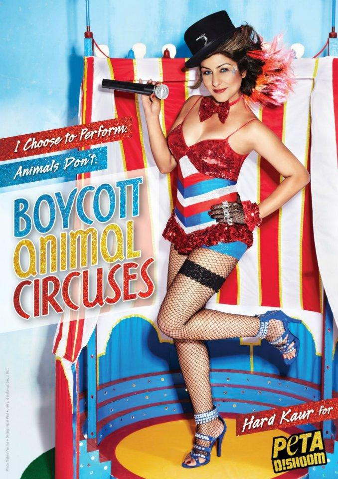 Hard Kaur Launches Ad Campaign For PETA