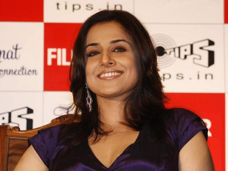 Smiling Vidya Balan Photo