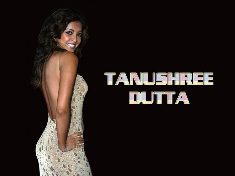 Tanushree Dutta Backless Dress Wallpaper