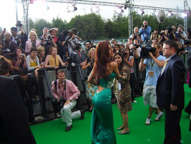 Shilpa Shetty On Green Carpet