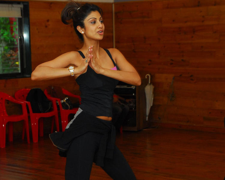 Shilpa Shetty Gym Photo