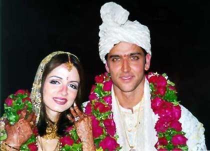 Hrithik Roshan Wedding Photo