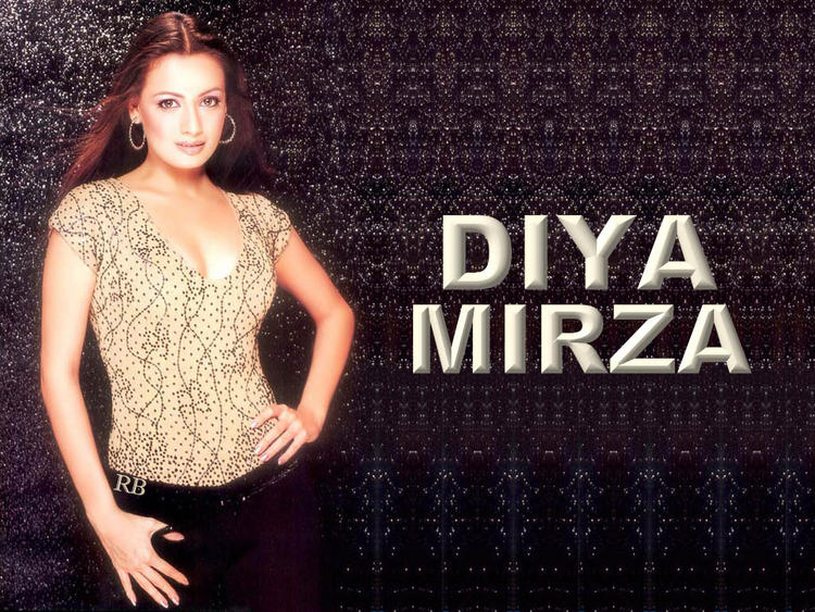 Diya Mirza Hot Gorgeous Wallpaper