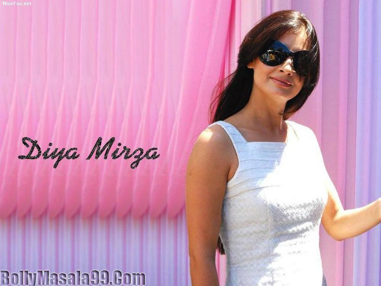 Diya Mirza  Hot Stylist Stunning Wallpaper