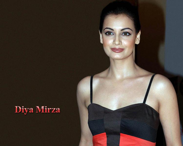 Diya Mirza Latest Gorgeous Wallpaper