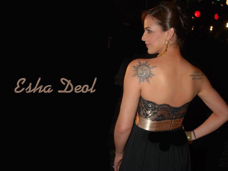 Esha Deol Tattoo Still