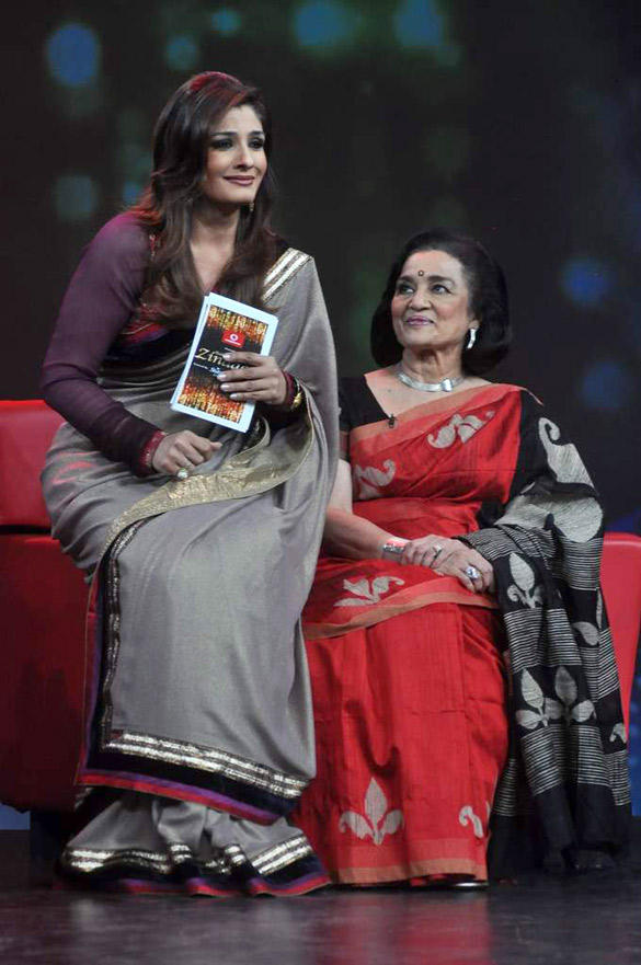 Asha Parekh on Raveena's NDTV Chat Show