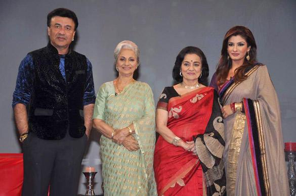 Bollywood Celebs at Raveena's NDTV Chat Show
