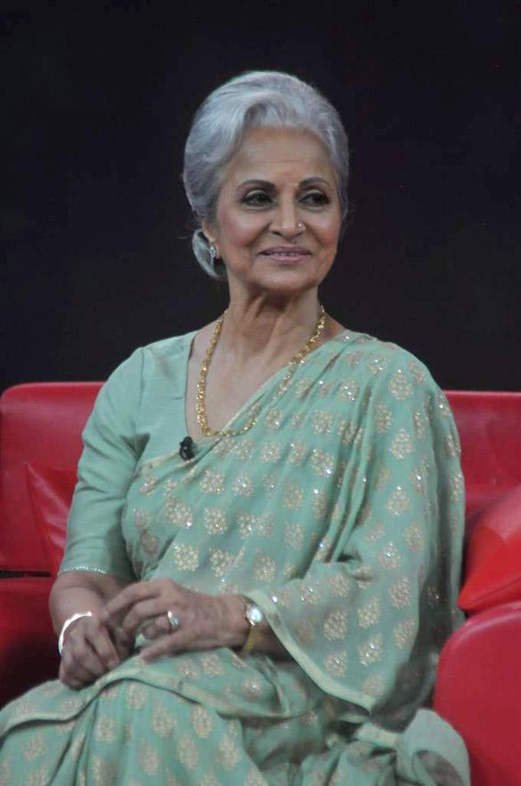 Waheeda Rehman on Raveena's NDTV Chat Show