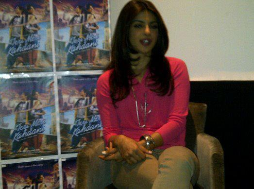 Priyanka Attended A Press Conference For Teri Meri Kahaani In London