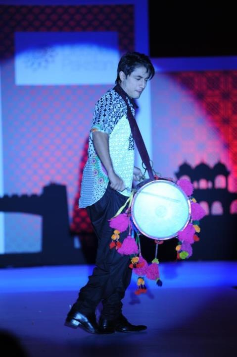 Ali Zafar During a Fashion Show For Lifestyle Pakistan Trade Exhibition