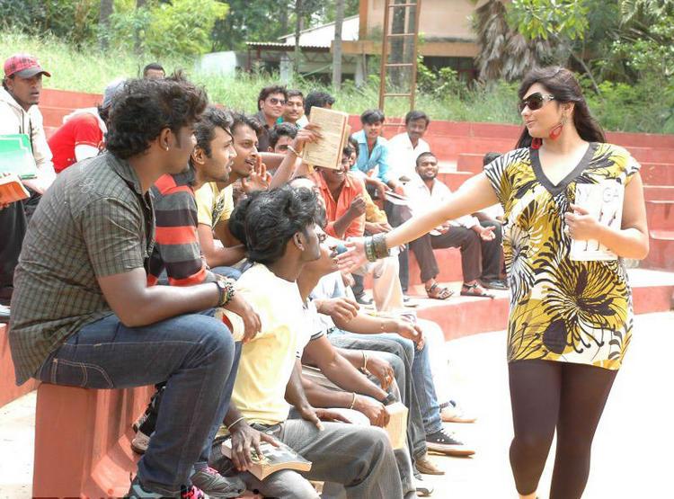 I Love You Kannada Movie Namitha Image