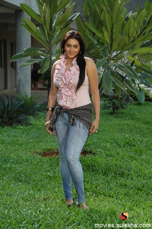 Namitha Hot Stills In Bhagavan MLA