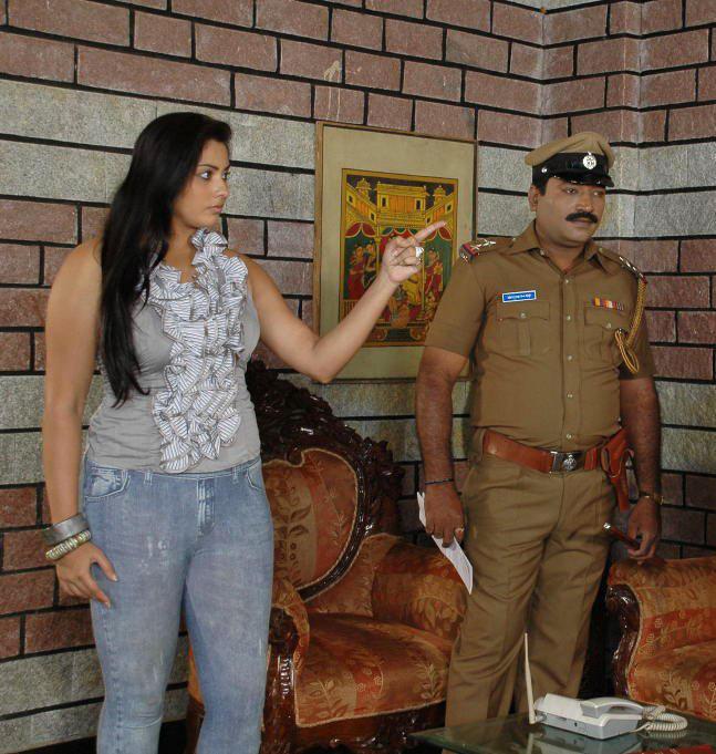 Namitha I Love You Kannada Movie Action Still