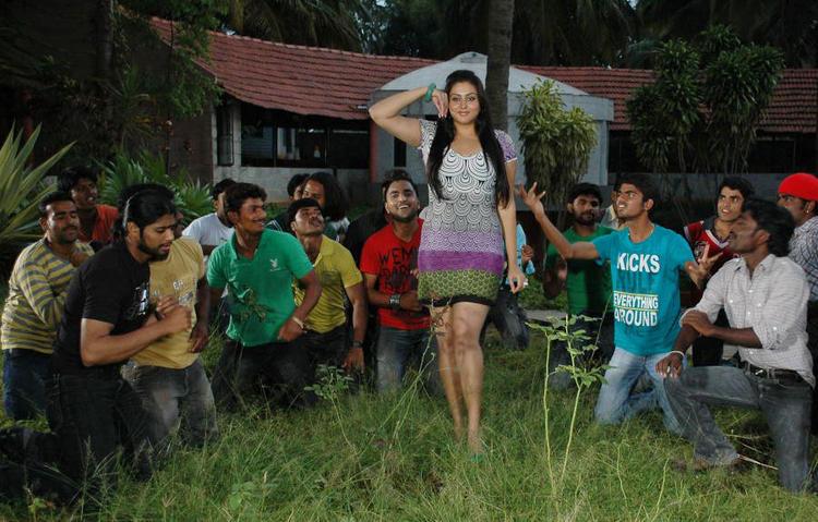 Namitha I Love You Kannada Movie Still