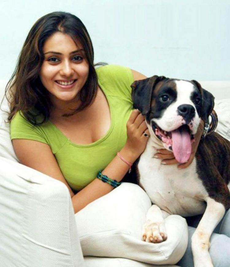 Namitha Latest Cute Still